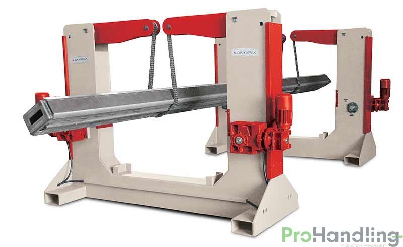 Drehvorrichtung-Stahlträger-Gesamtansicht